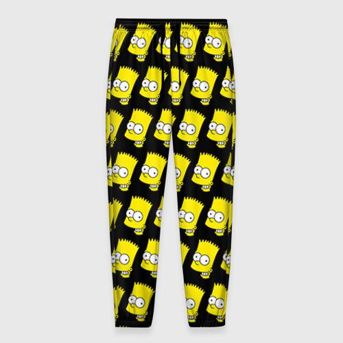 Мужские брюки 3D Барт Симпсон