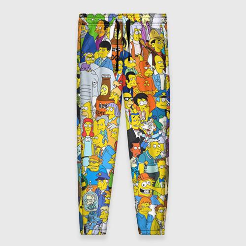 Женские брюки 3D Симпсоны