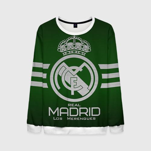 Мужской свитшот 3D Real Madrid