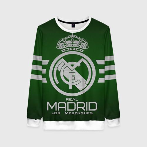 Женский свитшот 3D Real Madrid