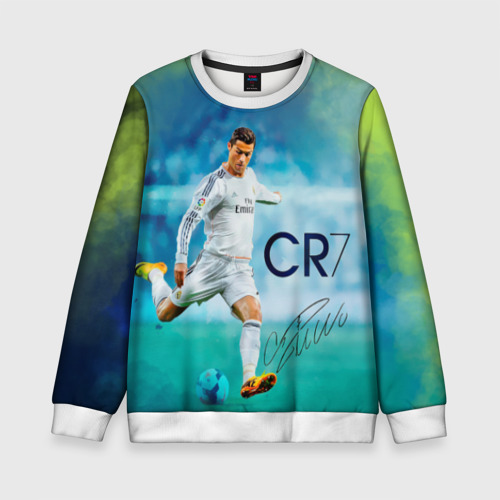 Детский свитшот 3D Ronaldo