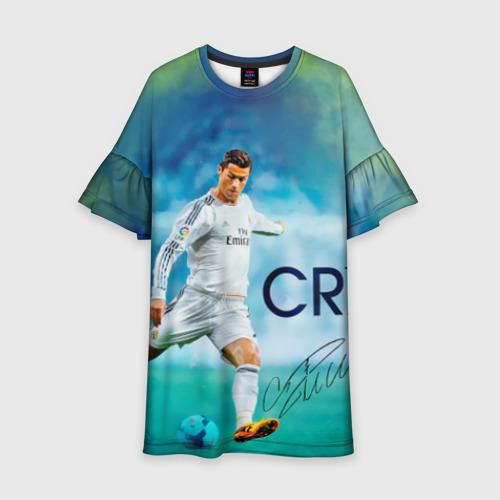 Детское платье 3D Ronaldo