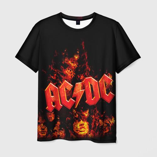 Мужская футболка 3D AC/DC