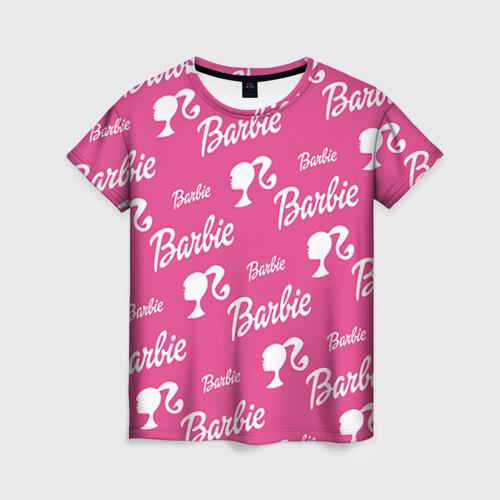 Женская футболка 3D Barbie