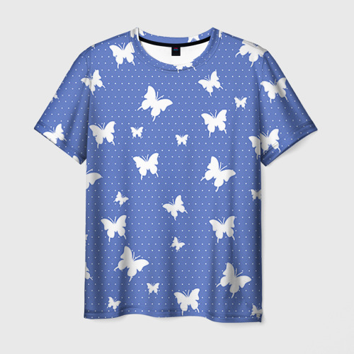 Мужская футболка 3D Бабочки