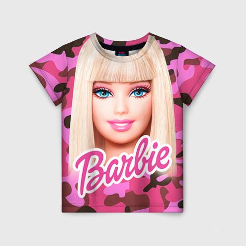 Детская футболка 3D Барби
