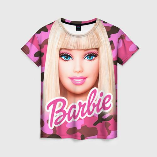 Женская футболка 3D Барби