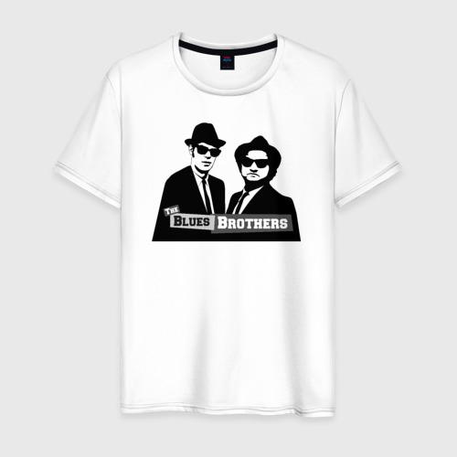 Мужская футболка хлопок Братья блюз