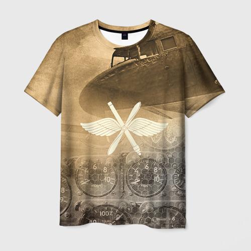 Мужская футболка 3D Авиация