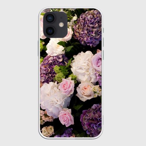 Чехол для iPhone 12 Pro Mini Цветы