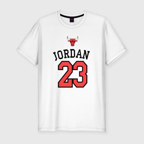 Мужская футболка хлопок Slim Jordan