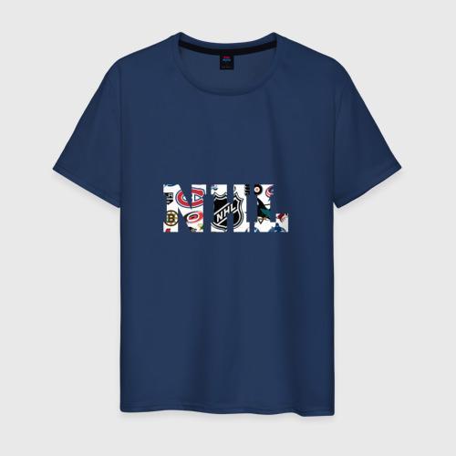 Мужская футболка хлопок NHL all teams
