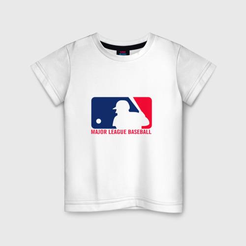 Детская футболка хлопок Бейсбол