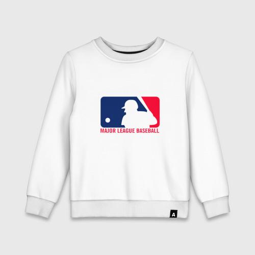 Детский свитшот хлопок Бейсбол