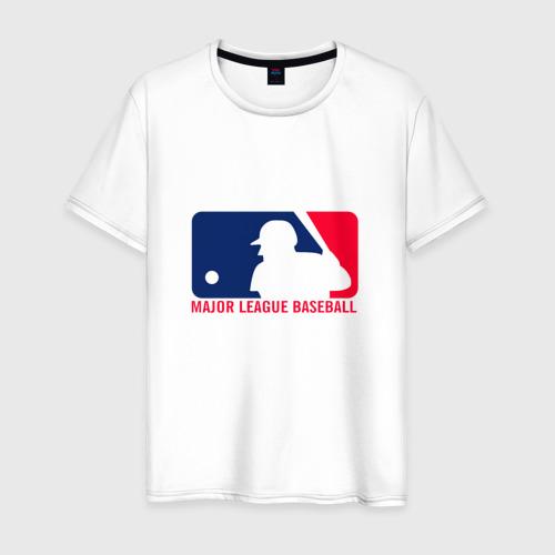 Мужская футболка хлопок Бейсбол