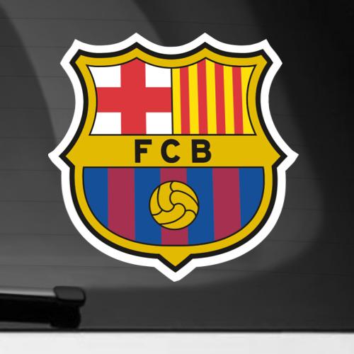 Наклейка на автомобиль Barcelona