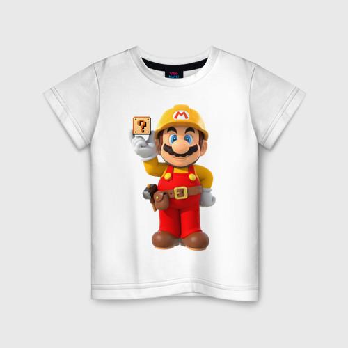 Детская футболка хлопок Super Mario