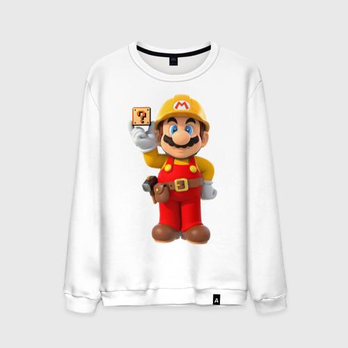 Мужской свитшот хлопок Super Mario