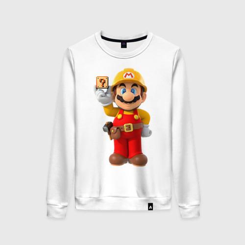 Женский свитшот хлопок Super Mario