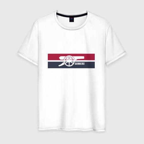 Мужская футболка хлопок Arsenal Gunners