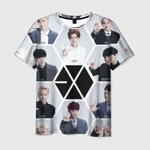 Мужская футболка 3D Exo