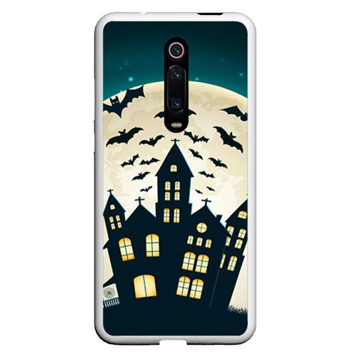 Чехол для Xiaomi Redmi Mi 9T Хэллоуин. Замок