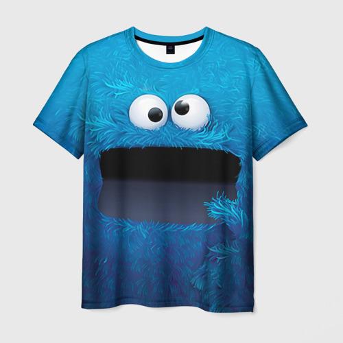Мужская футболка 3D Плюшевый Мем