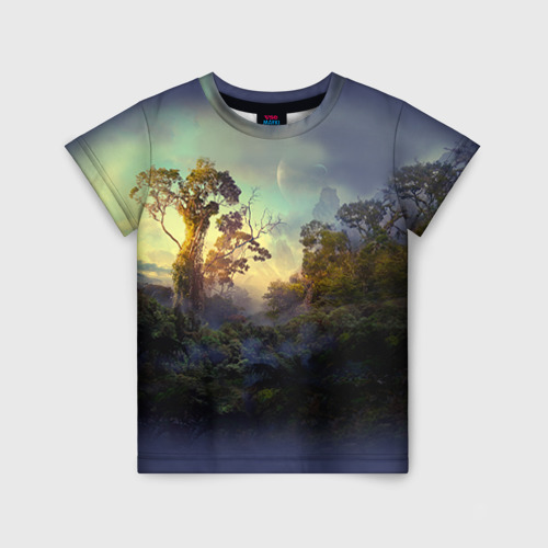 Детская футболка 3D Природа