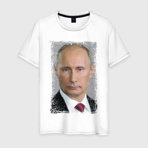 Мужская футболка хлопок Путин (retro style)