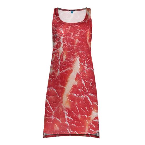 Платье-майка 3D Мясо