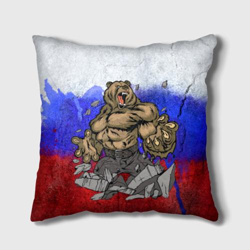 Подушка 3D Медведь