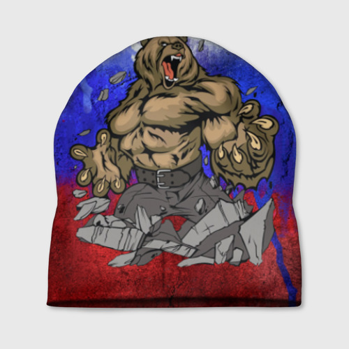 Шапка 3D Медведь