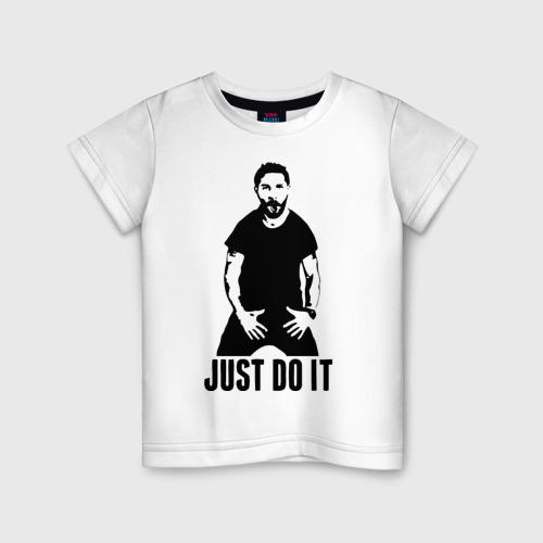 Детская футболка хлопок JUST DO IT