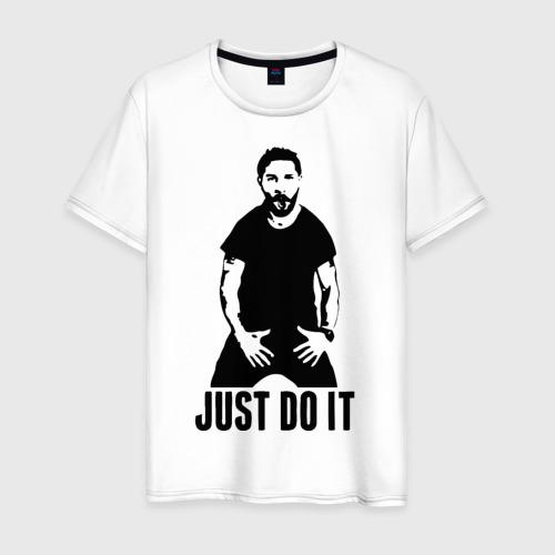 Мужская футболка хлопок JUST DO IT