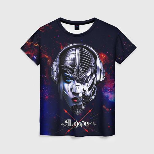 Женская футболка 3D Пиратская станция