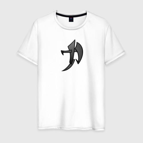 Мужская футболка хлопок Иероглиф Сила