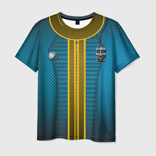 Мужская футболка 3D Комбинезон Убежища 111