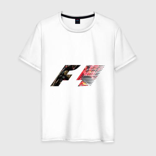 Мужская футболка хлопок Formula 1