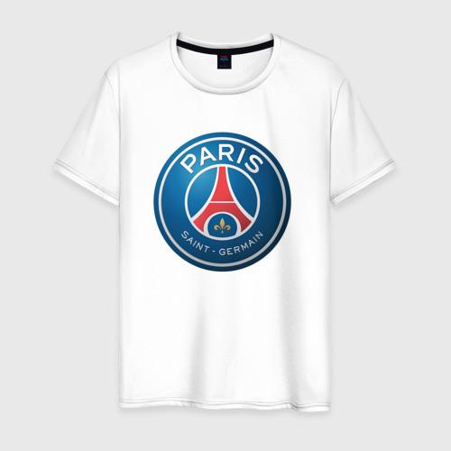 Мужская футболка хлопок Paris Saint Germain