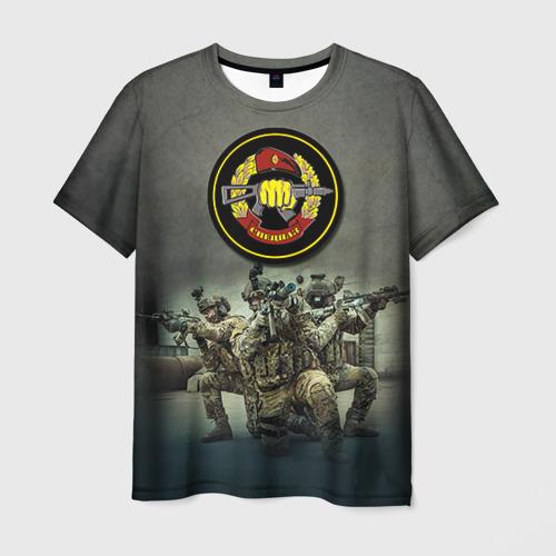 Мужская футболка 3D Спецназ