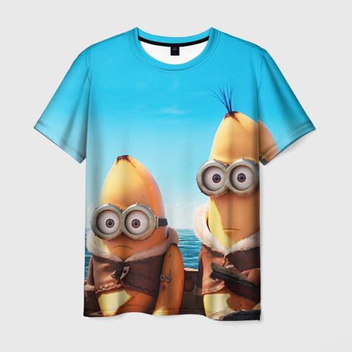 Мужская футболка 3D Путешественники