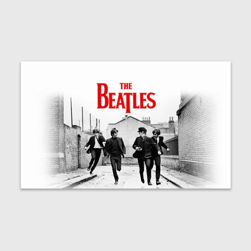 Бумага для упаковки 3D The Beatles