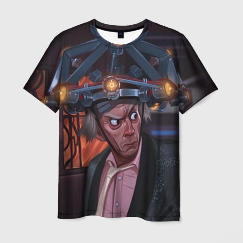 Мужская футболка 3D Назад в будущее