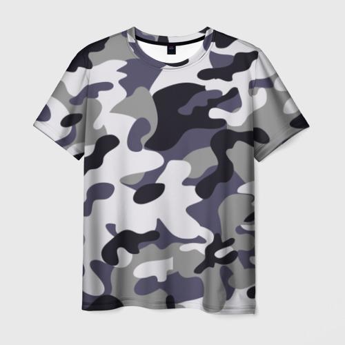Мужская футболка 3D Городской камуфляж