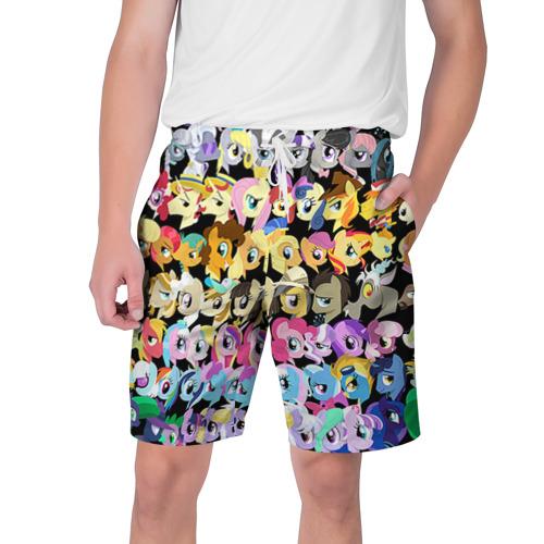 Мужские шорты 3D My Little Pony