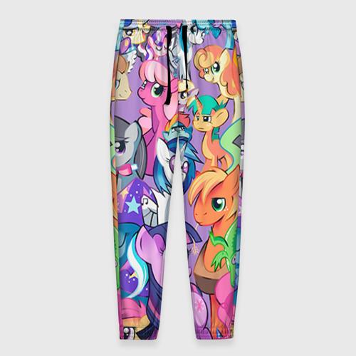 Мужские брюки 3D My Little Pony