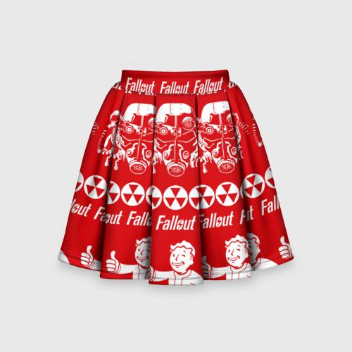 Детская юбка-солнце 3D Fallout свитер