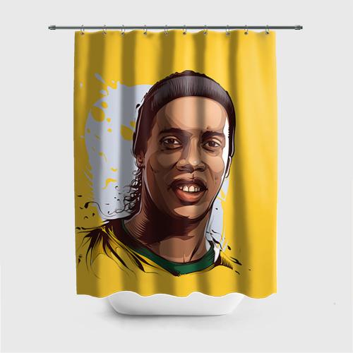 Штора 3D для ванной Ronaldinho