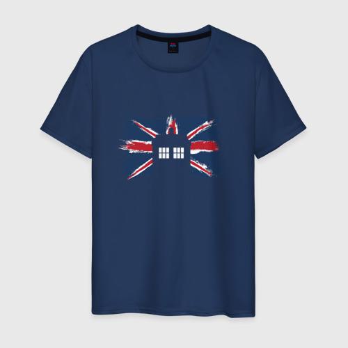 Мужская футболка хлопок Tardis Britain