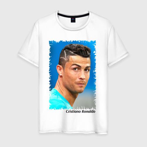 Мужская футболка хлопок Cristiano Ronaldo